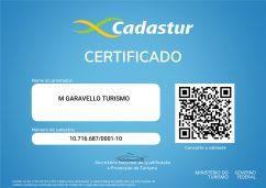 CERTIFICADO CADASTUR 1600