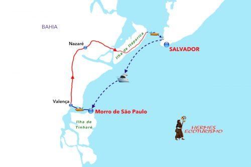 MAPPA SALVADOR E MORRO SÃO PAULO